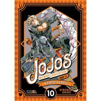 Jojo's Bizarre Adventure Vento Aureo #10 Manga Oficial Ivrea