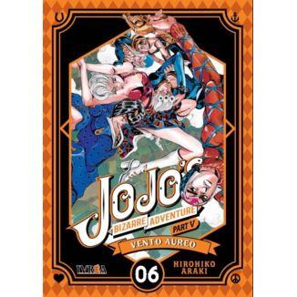 Jojo's Bizarre Adventure Vento Aureo #06 Manga Oficial Ivrea