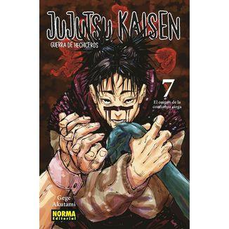 Jujutsu Kaisen #07 Manga Oficial Norma Editorial