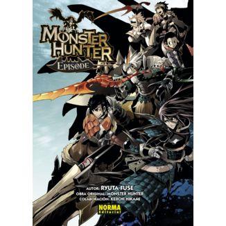 Monster Hunter Episode #01 #02 #03 Manga Oficial Norma Editorial (Spanish)