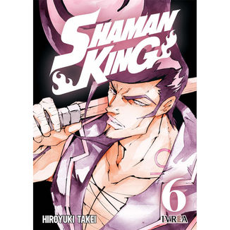 Shaman King #06 Manga Oficial Ivrea