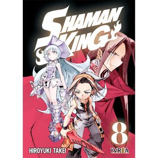 Shaman King #08 Manga Oficial Ivrea
