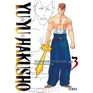 Yu Yu Hakusho Kanzenban #03 Manga Oficial Ivrea