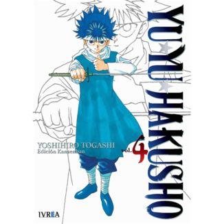 Yu Yu Hakusho Kanzenban #04 Manga Oficial Ivrea