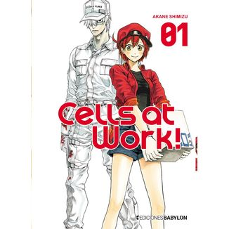 Cells At Work! #01 Manga Oficial Ediciones Babylon (spanish)