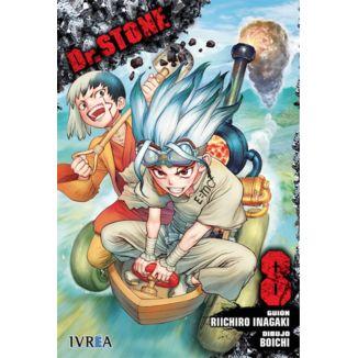 Dr. Stone #08 Manga Oficial Ivrea