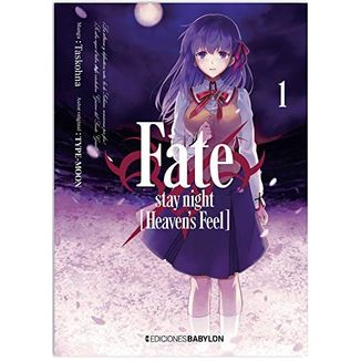 Fate/Stay Night: Heaven's Feel #01 Manga Oficial Ediciones Babylon (spanish)