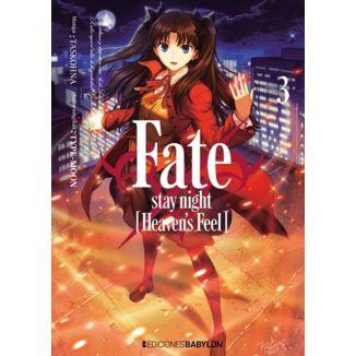 Fate Stay Night Heavens Feel #03 Manga Oficial Ediciones Babylon