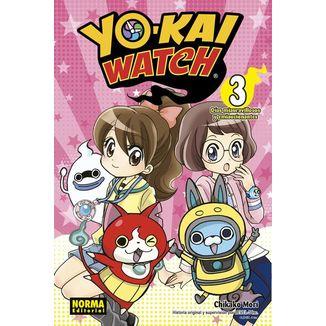 Yo-Kai Watch Días Miauravillosos y Emiaucionantes #03 (Spanish) Manga Oficial Norma Editorial
