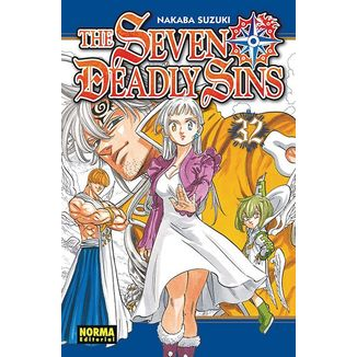 The Seven Deadly Sins #32 Manga Oficial Norma Editorial