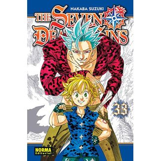 The Seven Deadly Sins #33 Manga Oficial Norma Editorial