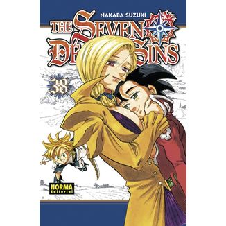 The Seven Deadly Sins #38 Manga Oficial Norma Editorial