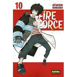 Fire Force #10 (spanish)