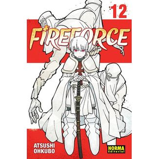 Fire Force #12 (spanish) Manga Oficial Norma Editorial