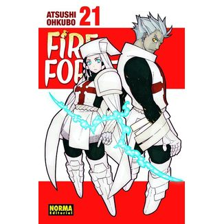 Fire Force #21 Manga Oficial Norma Editorial