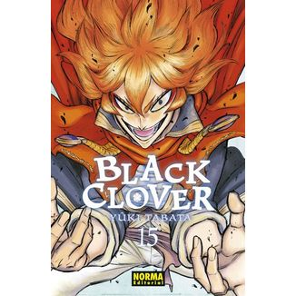Black Clover #15 (Spanish) Manga Oficial Norma Editorial