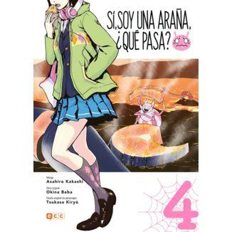 Sí, soy una araña, ¿qué pasa? #03 Manga Oficial ECC Ediciones (spanish)