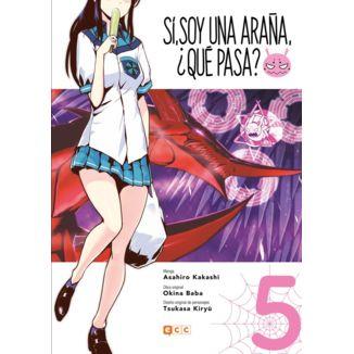 Sí, soy una araña, ¿qué pasa? #05 Manga Oficial ECC Ediciones