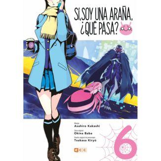 Sí, soy una araña, ¿qué pasa? #06 Manga Oficial ECC Ediciones