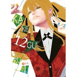Kakegurui Jugadores Dementes #12 Manga Oficial ECC Ediciones (spanish)
