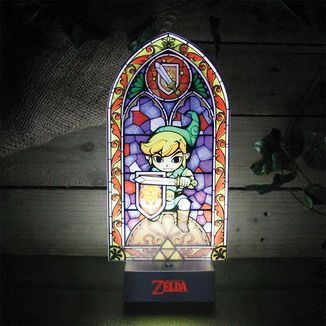 Lampara The Legend of Zelda - Vidriera de Link