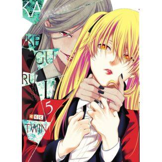 Kakegurui Twin Jugadores Dementes #05 Manga Oficial ECC Ediciones