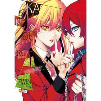 Kakegurui Twin Jugadores Dementes #06 Manga Oficial ECC Ediciones