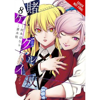 Kakegurui Twin Jugadores Dementes #08 Manga Oficial ECC Ediciones