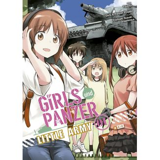 Girls und Panzer Little Army #01 (spanish)