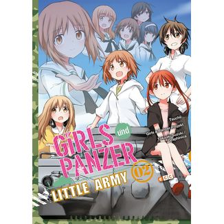 Girls und Panzer Little Army #02 (spanish) Manga Oficial ECC Ediciones