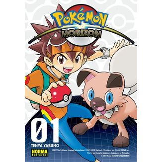 Pokemon Horizon #01 Manga Oficial Norma Editorial