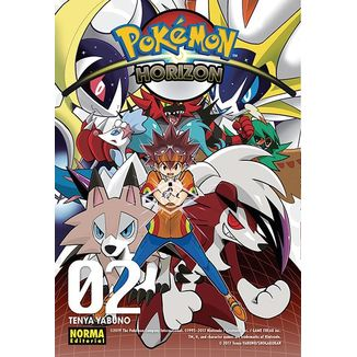 Pokemon Horizon #02 Manga Oficial Norma Editorial