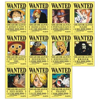 Posters Wanted Collection One Piece