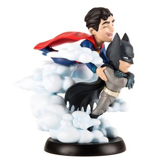 Superman and Batman Q-Fig MAX World's Finest DC Comics Figure