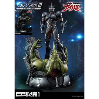 Estatua Guyver III & Busto Guyver III Premium Guyver The Bioboosted Armor Ultimate Edition Set