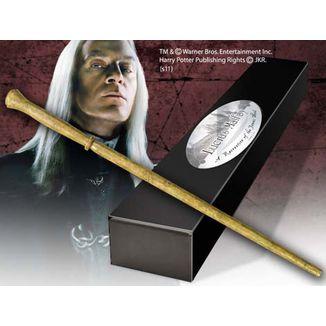 Varita Lucius Malfoy Réplica Oficial Harry Potter