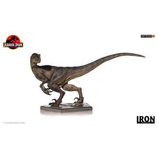 Velociraptor Statue Jurassic Park Art Scale