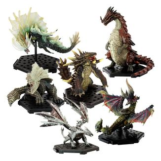 Figura Monster Hunter Trading Standard Model Plus The Best Vol. 7 & 8 (caja aleatoria)