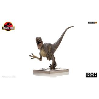 Velociraptor Attack Statue Jurassic Park Art Scale