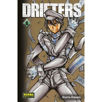 Drifters #06 (Spanish) Manga Oficial Norma Editorial