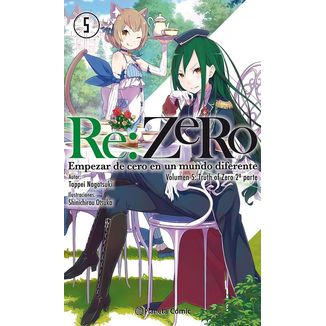 RE:ZERO 05 (Light Novel) Oficial Planeta Comic (Spanish)