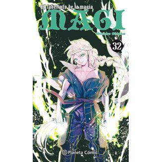 MAGI El laberinto de la magia #32 Manga Oficial Planeta Comic (Spanish)