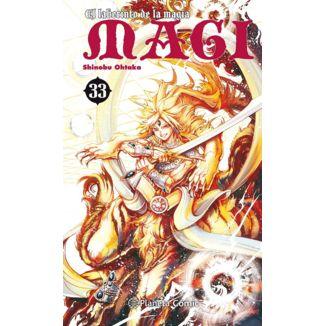 MAGI El laberinto de la magia #33 Manga Oficial Planeta Comic
