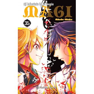 MAGI El laberinto de la magia #35 Manga Oficial Planeta Comic (Spanish)