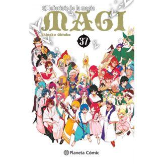 MAGI El laberinto de la magia #37 Manga Oficial Planeta Comic (Spanish)