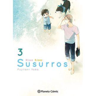 Hiso Hiso: Susurros #03 Manga Oficial Planeta Comic