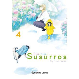 Hiso Hiso: Susurros #04 Manga Oficial Planeta Comic