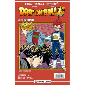 Dragon Ball Super Serie Super #19 Manga Oficial Planeta Comic