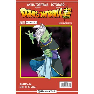 Dragon Ball Super Serie Super #15 Manga Oficial Planeta Comic