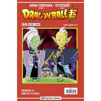 Dragon Ball Super Serie Super #16 Manga Oficial Planeta Comic (Spanish)